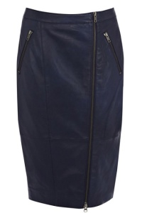 Leather skirt by Oasis £95