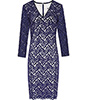 Blue Lace Dress by Reiss £89 down from £225
