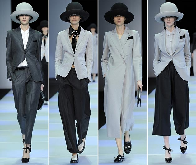 Armani at Milan Fashion Week Autumn/Winter 2014