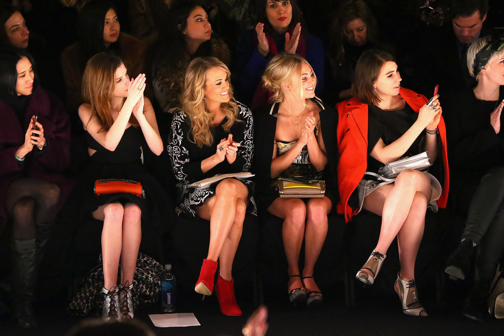 How Many Bare Legs Does It Take To Make A Fashion Week After Carrie