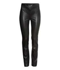 PVC trousers from H&M £24.99