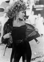 Olivia Newton John in those trousers in Grease