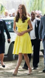 Kate Middleton in Jaegar, 2012