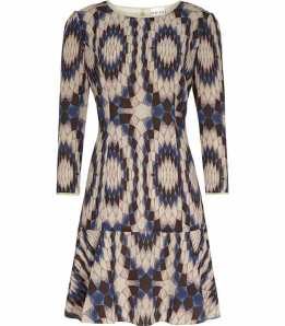 Print dress from Reiss £89 reduced from £179