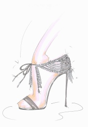 Teaser design released by Aquazzura this week