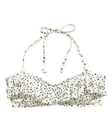 Ruffle bikini top £9.99 at H&M