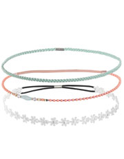 Set of hairbands at Accessorize £12