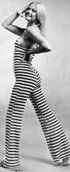 1960s catsuit by Biba