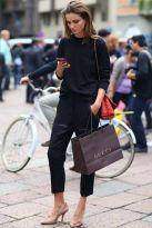 Where black is always the new black - Milan Fashion Week