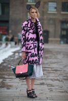 London Fashion Week - can you imagine bunny ears in Paris?