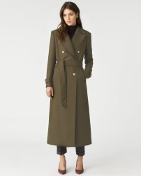 Military coat from Jigsaw £298