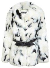 Faux fur coat from Miss Selfridge £120