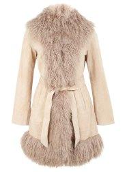 Shearling coat from Miss Selfridge £200