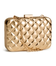 Gold bag from H&M £14.99