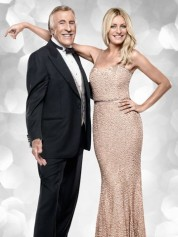 Now THIS dress works! Tess with Bruce Forsyth