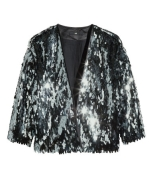 Sequin jacket from H&M £34.99