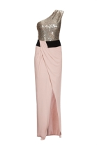 One shoulder dress £465 at Pinko