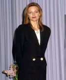 Michelle Pfeiffer in Giorgio Armani in 1989