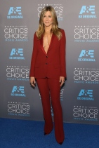 Jennifer Aniston in Gucci at the Critics' Choice awards