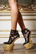The McQueen heelless boot