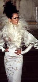 McQueen for Givenchy haute couture