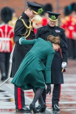 Kate Middleton and the heel that got stuck in the grating