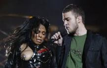 Janet and Justin at the 2004 Superbowl