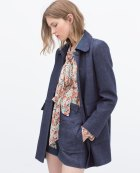 Coat £89.99 at Zara