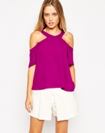 Bare shoulder top £28 at ASOS