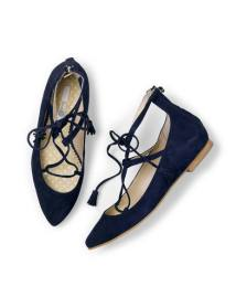 Lace-ups £89 at Boden