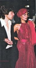 Mick and Bianca Jagger at Studio 54