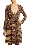 DVF dress £200 at The Outnet