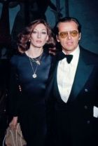 Angelica Huston and Jack Nicholson