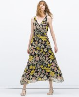 Maxi dress £19.99 down from £49.99 at Zara