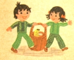 Topsy and Tim go shopping