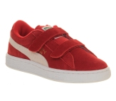 Puma trainers with velcro straps - good