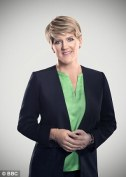 Clare Balding - chuck whatever you like at her, the hair stays
