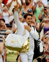 Just something he threw on - Roger Federer