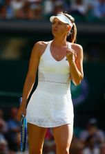 Maria Sharapova wears Stella McCartney for Adidas