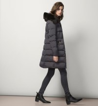 Hooded puffer £195 at Massimo Dutti