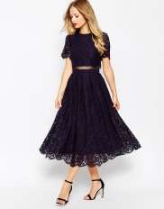 Lace skirt and top £75 at ASOS