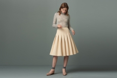 Skirt £75 at Finery London