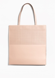 Pink leather bag £79 at & Other Stories
