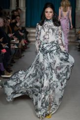 Matthew Williamson maxi dress Autumn Winter 2015