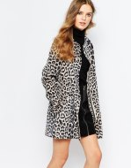 Leopard print coat £180 by Pepe at ASOS