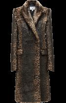 Leopard print coat by Carine Roitfeld x Uniqlo £129.90