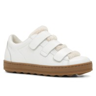 Leather and shearling trainers £70 at Aldo