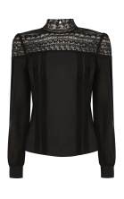 Blouse £125 at Karen Millen