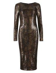 Snake print dress £69 at M&S