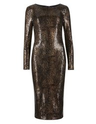 Snake print dress £69 at M&S